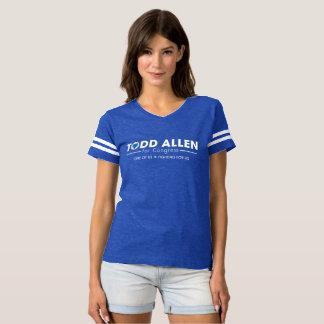 Camiseta Todd Allen para o logotipo do congresso: Chiqueiro