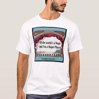 """Camiseta """"Todo o mundo é um palco"""