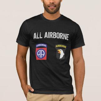 Camiseta Todo o t-shirt transportado por via aérea