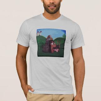 Camiseta Todo-Vendo o olho perseguir: Bogart o Impaler