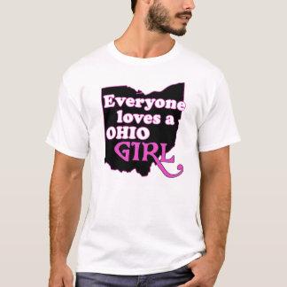 Camiseta Todos ama uma menina de ohio