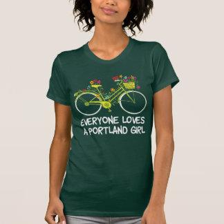 Camiseta Todos ama uma menina de Portland