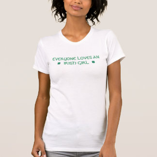 Camiseta Todos ama uma menina irlandesa