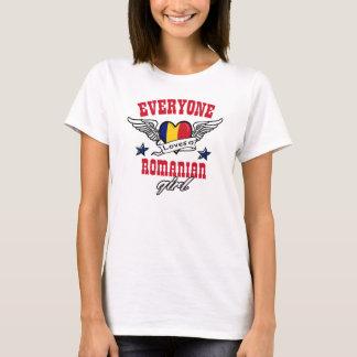 Camiseta Todos ama uma menina romena
