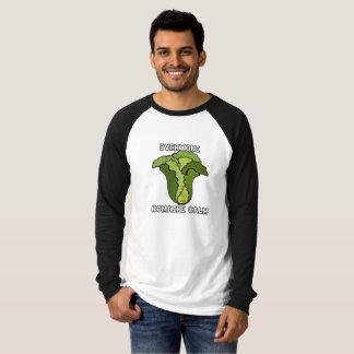 Camiseta Todos calma da alface romana