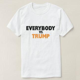 Camiseta Todos contra o t-shirt do trunfo