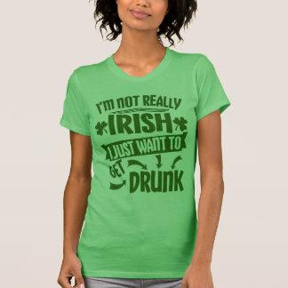 Camiseta Todos é citações engraçadas do dia irlandês de