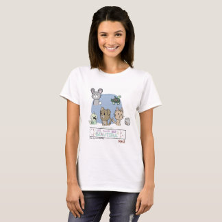 Camiseta Todos os animais são bonitos pela génese Benevidas