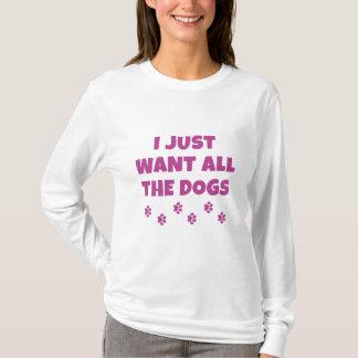 Camiseta Todos os cães