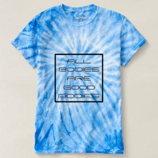 Camiseta Todos os corpos são tintura positiva do laço do