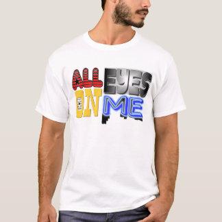 Camiseta Todos os olhos em mim