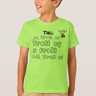 Camiseta todos pescam à linha palavras e o logotipo