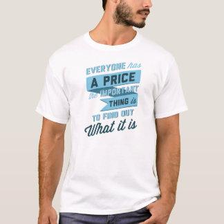 Camiseta Todos tem um preço