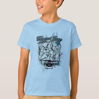 Camiseta Tom e Jerry Hollywood CA
