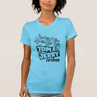 Camiseta Tom e Jerry | Tom e desenhos animados de Jerry