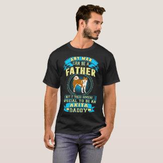 Camiseta Toma a alguém o Tshirt especial do pai de Akita