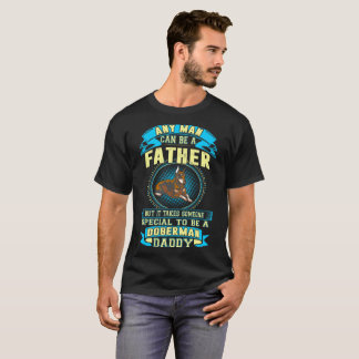Camiseta Toma a alguém o Tshirt especial do pai do Doberman