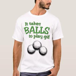 Camiseta Toma bolas para jogar o golfe