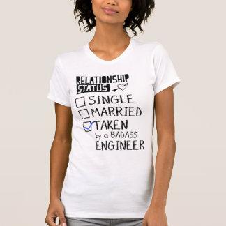 Camiseta Tomado por um engenheiro de Badass
