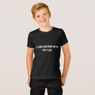 Camiseta Tomando doações para fart a multa americana j do