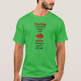 Camiseta Tomate sábio