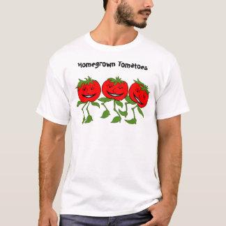 Camiseta tomates, tomates caseiros