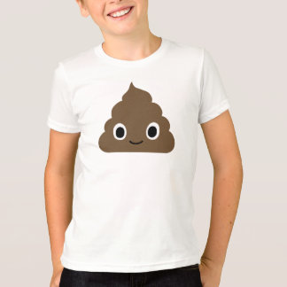 Camiseta Tombadilho adorável - excremento de Kawaii - Doo