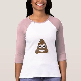 Camiseta Tombadilho bonito engraçado Emoji