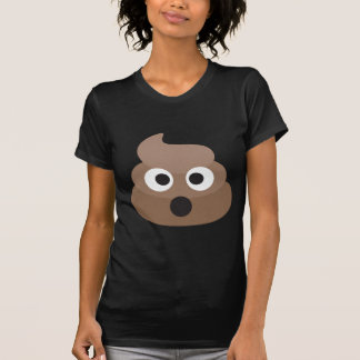 Camiseta Tombadilho chocado divertido de Emoji
