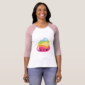 Camiseta Tombadilho de Emoji Raimbow!