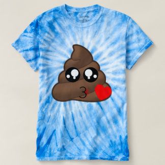 Camiseta Tombadilho Emoji do amor do coração
