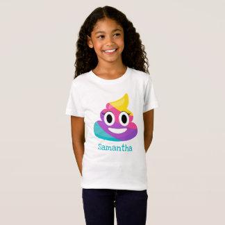 Camiseta Tombadilho Emoji do arco-íris