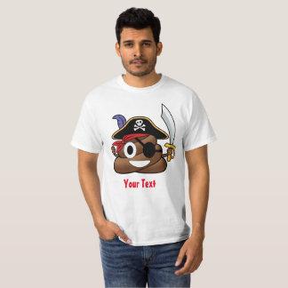 Camiseta Tombadilho Emoji o Dia das Bruxas do pirata