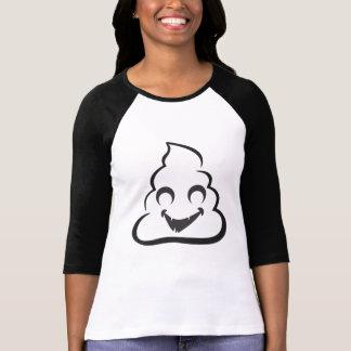 Camiseta Tombadilho Emoji o Dia das Bruxas do vampiro