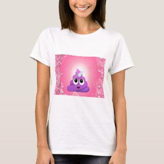 Camiseta Tombadilho mágico personalizado Emoji do unicórnio