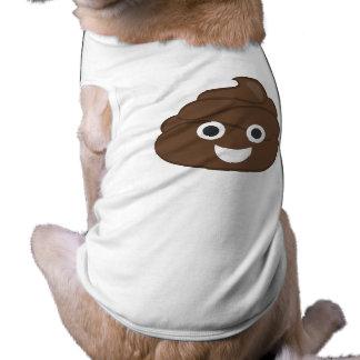 Camiseta Tombadilho parvo louco Emoji de Brown