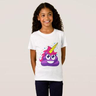 Camiseta Tombadilho roxo de Emoji do unicórnio