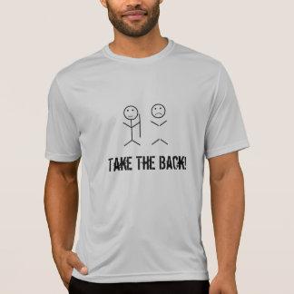 Camiseta Tome a parte traseira!