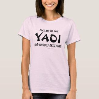 Camiseta Tome-me ao Yaoi e ninguém obtem ferido