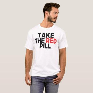 Camiseta Tome o comprimido vermelho e obtenha-o baseado