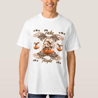 Camiseta Tome o vôo (a substituição)