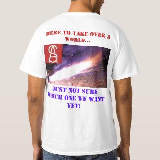 Camiseta Tome sobre o mundo….
