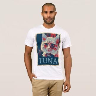 Camiseta Tome um suporte… para o atum? Sim nós podemos!