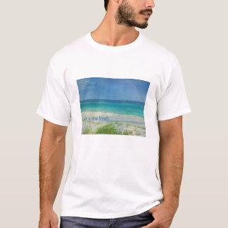Camiseta Tome um Tshirt do oceano da respiração profunda