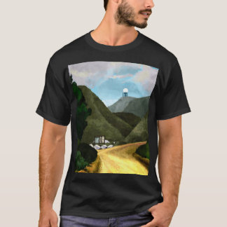 Camiseta Tome uma caminhada. A obscuridade básica dos