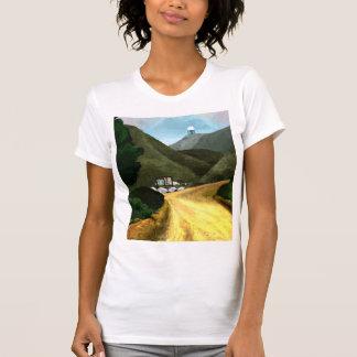 Camiseta Tome uma caminhada. Jérsei americano da multa do