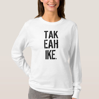 Camiseta Tome uma caminhada que caminha o nome da trouxa da