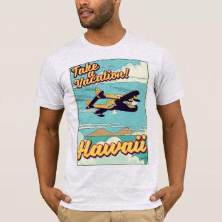 Camiseta Tome umas férias! Desenhos animados do viagem de