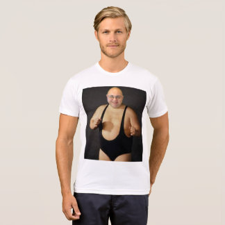 """Camiseta Tommy """"a cara a mais resistente em NJ"""" Sellitto"""