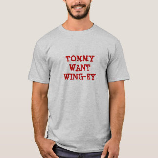 Camiseta Tommy quer a Asa-ey